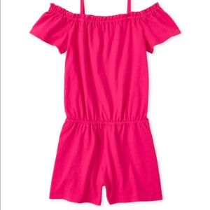 🔥2/$20 The  Children's Place Sz XL Girls Romper